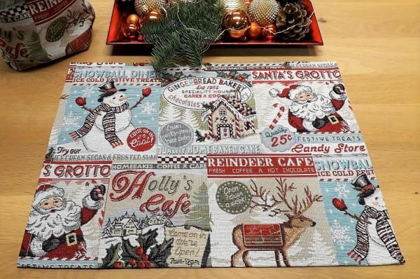 """Tischset """"Christmas-Comic"""""""